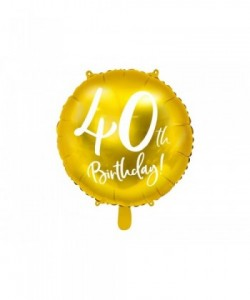 Foil Balloon 40th Birthday,...