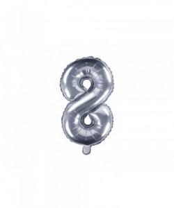 Foil Balloon Number 8 35cm...