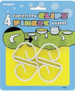Tablecloth Clips, 4ct