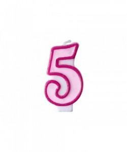 Vela de cumpleaños número...