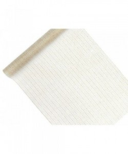 Printed Organza, white,...