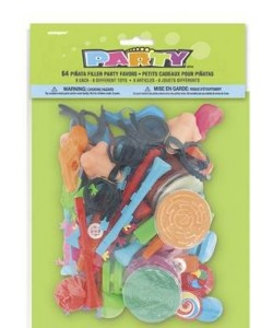 Pinata Filler Favors 64Pc