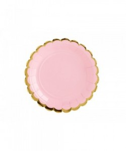 Plates light pink 18cm (1...