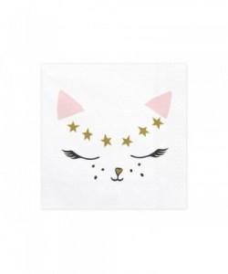 Servilletas Kitty, 33x33cm...