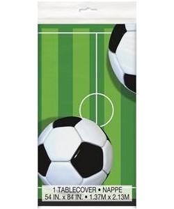 3D Soccer Plastic Tablecover