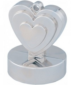 Heart Weight 12Ct Silver