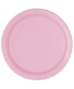 "Lovely Pink Solid Round 9""..."