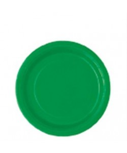 Emerald Green Solid Round 7...
