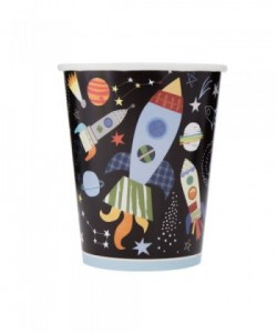 Outer Space 9oz Paper Cups,...