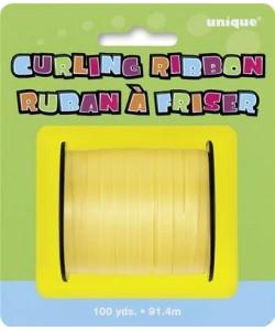 Yellow Curling Ribbon 100 Yds