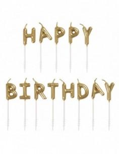 Velas cumpleaños selección...