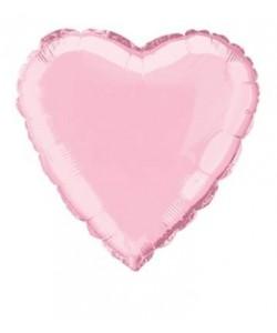 18 pulg  Bulk Hrt Pstl Pink...