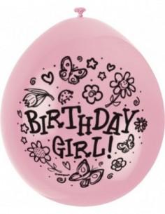 10Ct 9 pulg. A/O Birthday...