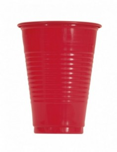 10 Ruby Red 16Oz Plstc Cup