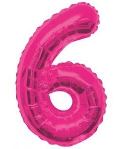 34 pulg.  Pkg Pink Glitz...