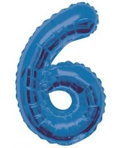 34 pulg  Pkg Blue Glitz...