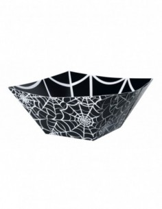 Spider Web Paper Square Bowl