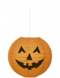 Pumpkin 10 pulg. Round Lantern