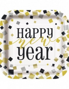 Happy New Year Square 9...