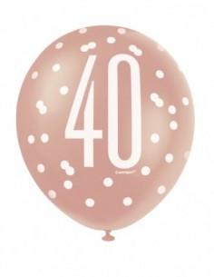6 12 pulg.  Birthday Glitz...