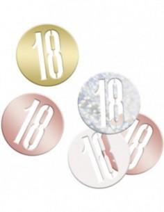 Glitz Rose Gold 18 Confetti...