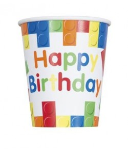 8 Bldng Blcks Bday 9Oz Cup