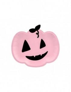 Plates Pumpkin, pink,...