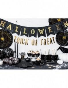 Banner Halloween, black,...