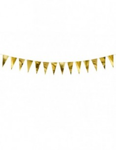 Bunting, gold, 2.15 m