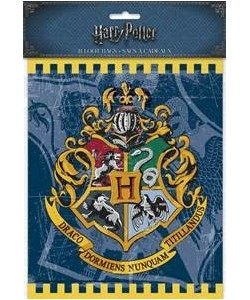 8  Loot Bags Harry Potter