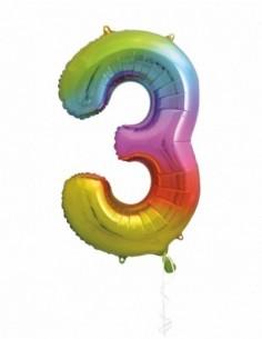 34 pulg pkg rainbow foil...