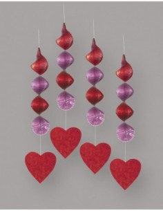 Hearts Hanging Decorations,...