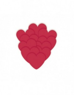 Mini Red Heart Cut Outs, 5...