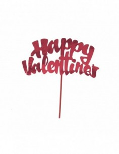 Red Happy Valentine's Foil...