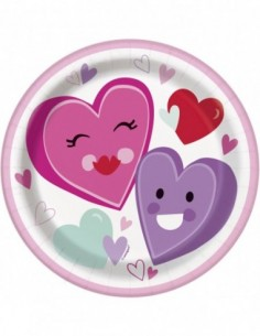 Smiling Hearts 7 pulg....
