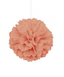 """Coral Solid 16"""" Hanging..."""