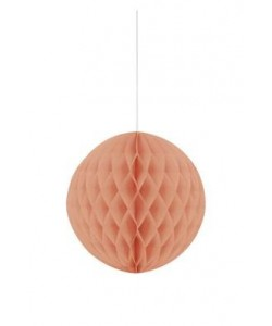 """Coral Solid 8"""" Honeycomb Ball"""