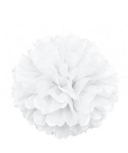 Puff Decor 16 pulg. White