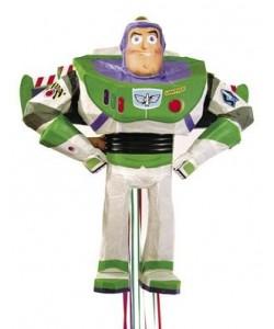 Buzz Lightyear 3D Pull Pinata