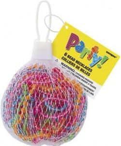 6 Transparent Beads - Net Bag