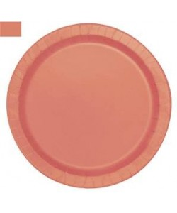 16 Coral 9 pulg. Plates