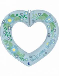 41'' (85x84 cm) Linky Heart...
