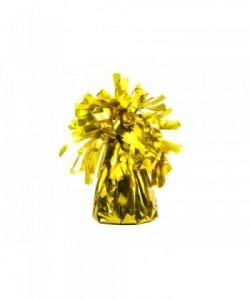 Foil balloon weight, gold...