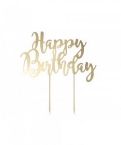 Pastel de cumpleaños feliz,...