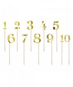 Números de la tabla, oro,...