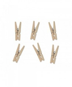 Wooden pegs, natural wood...