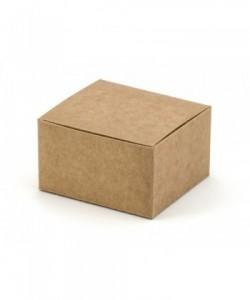 Cajas, kraft, 6x5.5x3.5cm...