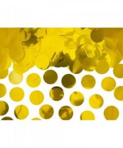 Círculos de confeti, oro, 15g