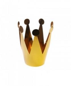Coronas de fiesta, doradas,...
