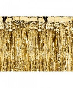 Cortina de fiesta, oro, 0,9...